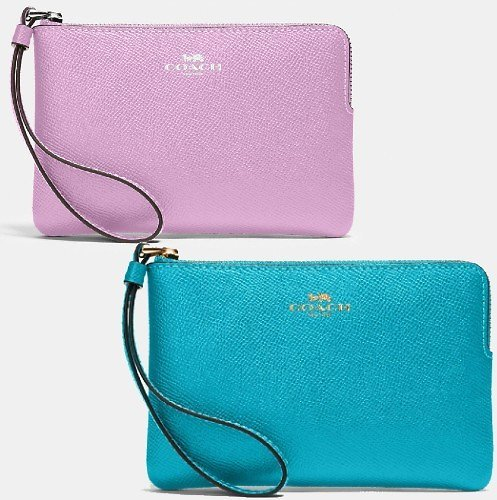 Corner Zip Wristlet (2 Colors)