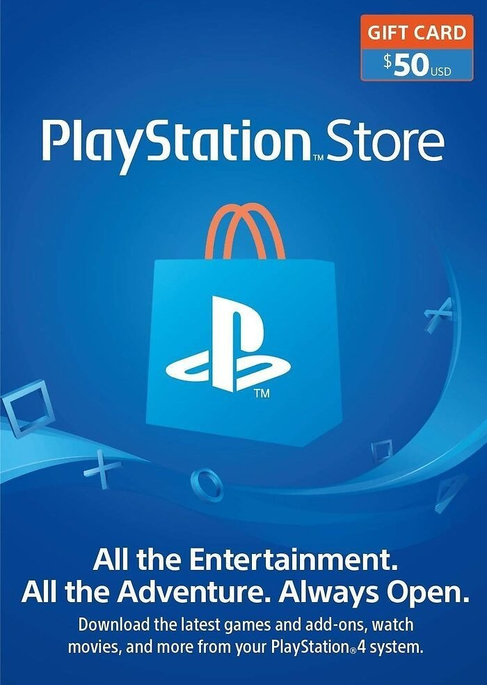 $50 PlayStation Store Gift Card Digital for $46.32