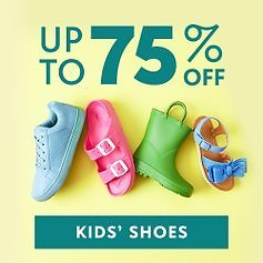 Easter Blow-Out: Kids' Shoes