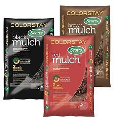3 for $9 Scotts ColorStay Mulch (3 Colors)