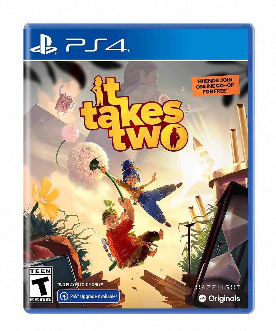 It Takes Two, Electronic Arts, PlayStation 4, Physical Edition