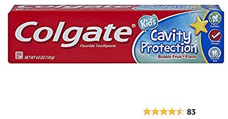 Colgate Kids Cavity Protection Toothpaste