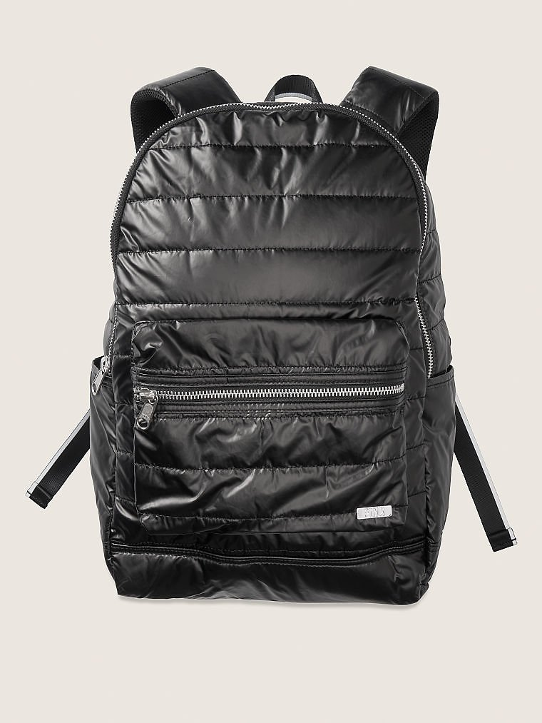 Quilted Taffeta Backpack