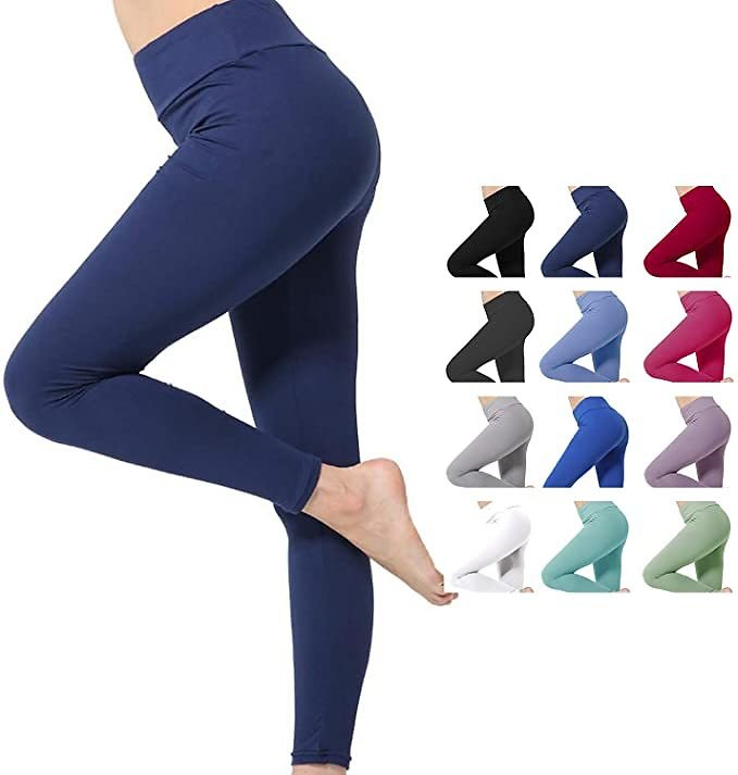 Kamots Beauty High Waist Leggings for Women $7.5