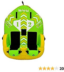 RAVE Sports 02644 #STOKED 2-Rider Towable