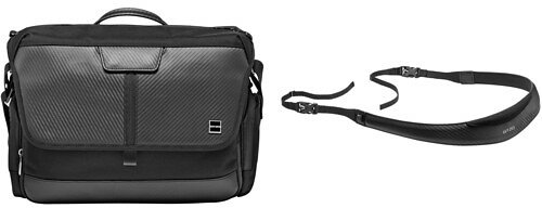 Gitzo Century Camera Traveler Messenger Bag & Camera Strap Kit