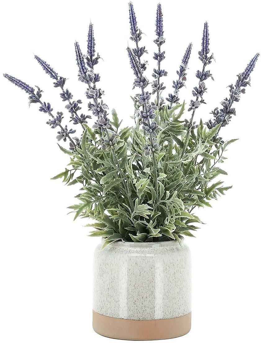Sonoma Goods For Life® Artificial Lavender Floral Bouquet & Pot Table Decor