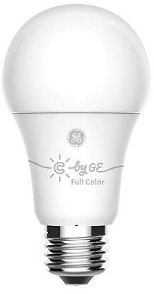 3-Pack C By GE A19 Full Color LED Smart Bulbs