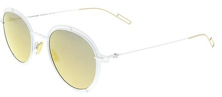 Dior Homme Men's 49 Suo Bronze Mirror Lens Sunglasses