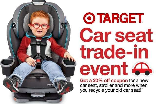 20% Discount for Recycling Old Car Seats