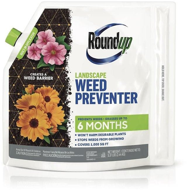 Roundup Landscape 5.37-lbs Pre-Emergent Lawn Weed Killer