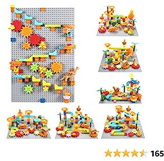 30% Off Dinosaurs Building Blocks Marble Run Gear Toys, Compatible with All Major Brands