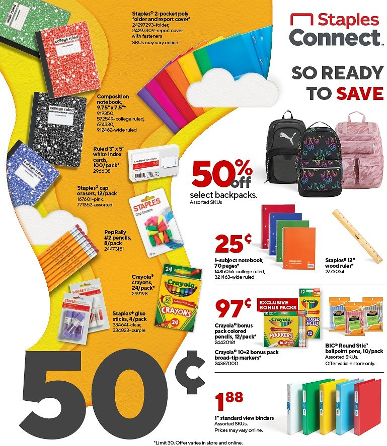 Staples Weekly Ad & More!