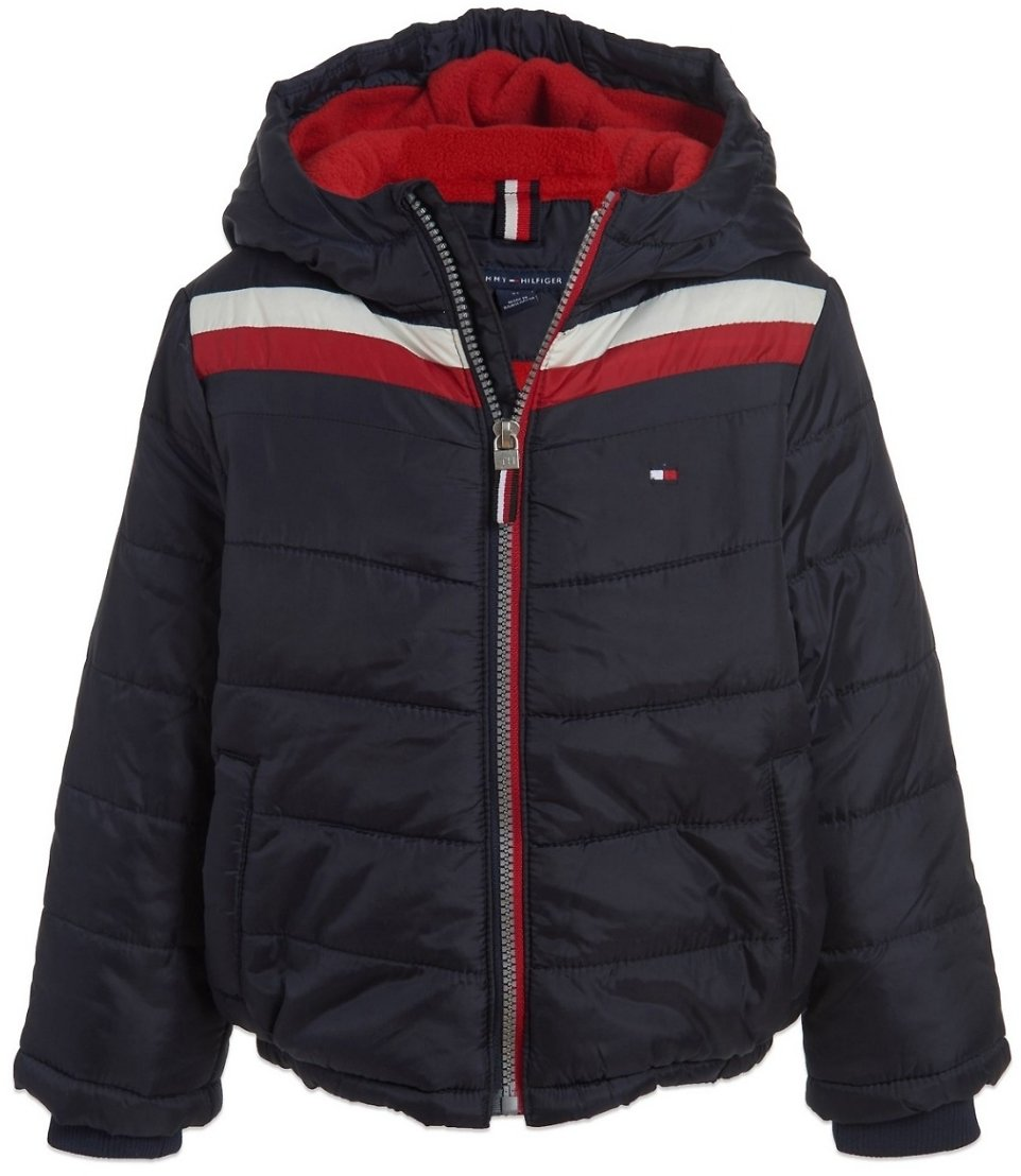 Tommy Hilfiger Boys Chevron Jacket (3 Colors)