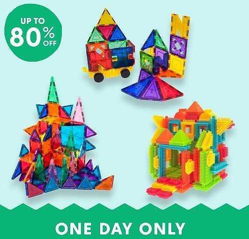 Up to 80% Off PicassoTiles from $11.99