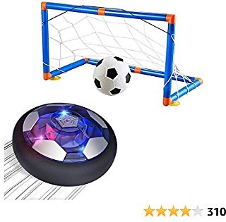 Outdoo Hover Soccer Ball Set with 2 Goals,Kids Toys