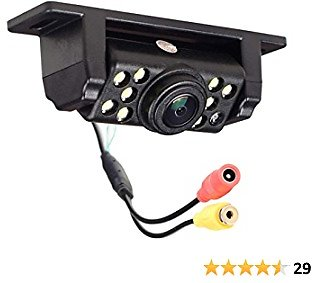 AESETEK Car Backup Camera Rear View Camera Reverse Camera with 170° Wide View Angle 9 LED Lights Super Clear Night Vision RCA Cable for All Vehicles