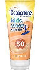 Coppertone Kids Clear Sparkle