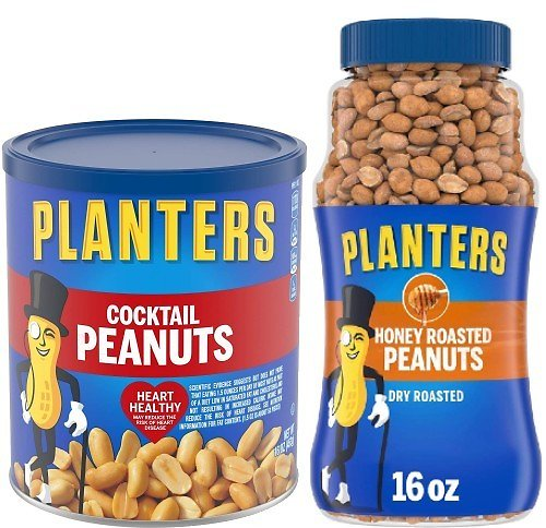 2 for $3 Planters Peanuts (Mult. Flavors)