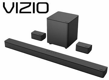 VIZIO V-Series 5.1 Channel Sound Bar System with Wireless Subwoofer