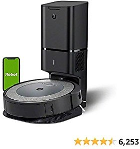 IRobot Roomba I3+ (3550) Robot Vacuum with Automatic Dirt Disposal Disposal - Empties Itself, Wi-Fi Connected Mapping