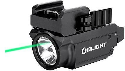 OLIGHT Baldr Mini 600 Lumens USB Rechargeable Green Laser Rail Mounted Weapon Pistol Tactical Light Flashlight Compatible with 1913 or GL Rail, Battery Box Included - Newegg.com