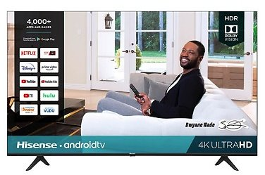 Hisense 58H6570G 58 Inch H65-Series 4K UHD Smart Android TV