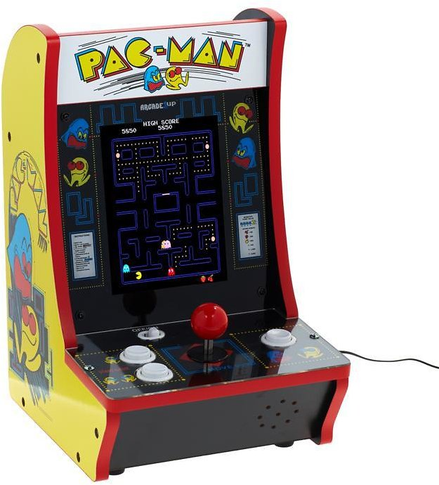 Exclusive! Arcade1Up 2-in-1 Countercade with Pac-Man and Galaga Games
