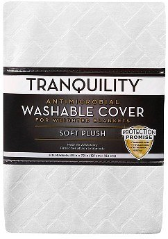 Tranquility 48″ X 72″ Cover for Weighted Blanket (Ivory)
