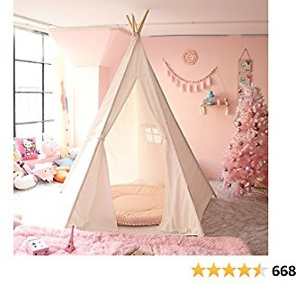 Teepee Play Tent Foldable for Kids