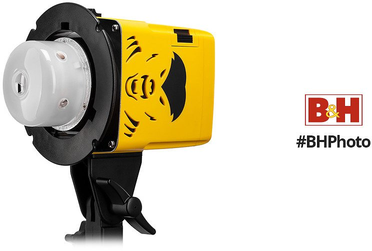 Interfit Badger Unleashed Battery-Powered Flash Head