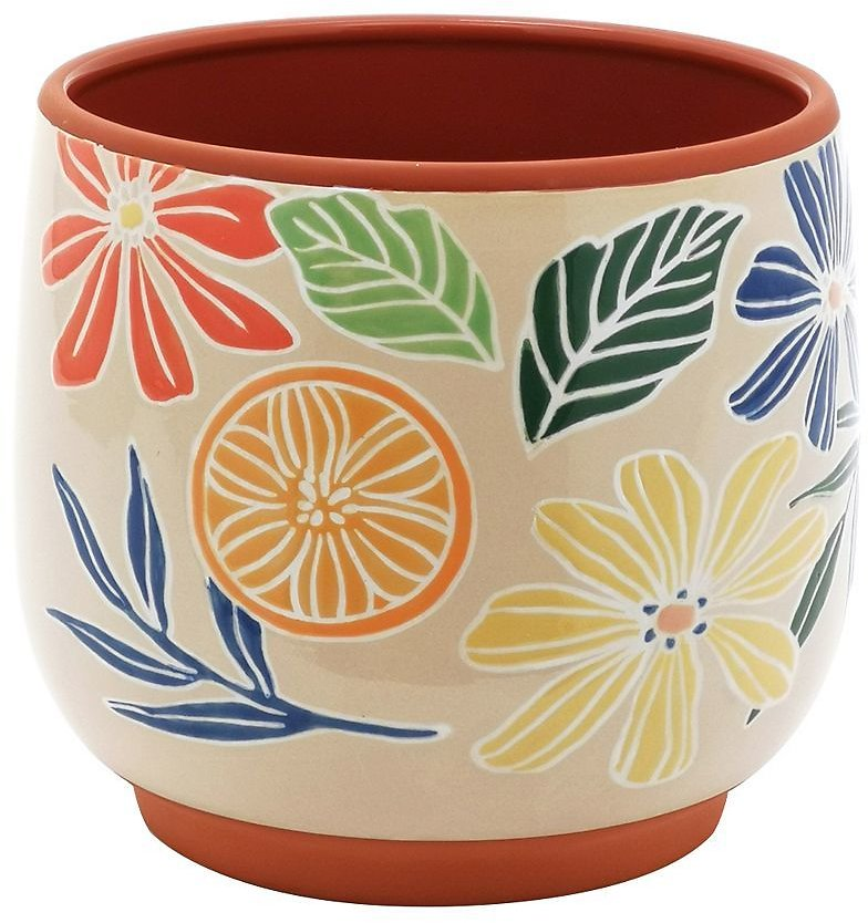 Sonoma Goods For Life® Mixed Floral Planter Table Decor