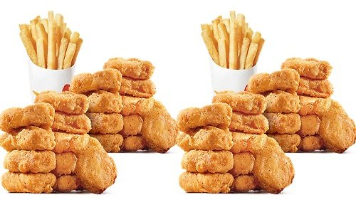 $9.99 40 Piece Nuggets & 2 Large Fries