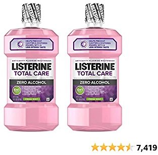 Listerine Total Care Alcohol-Free Anticavity Mouthwash