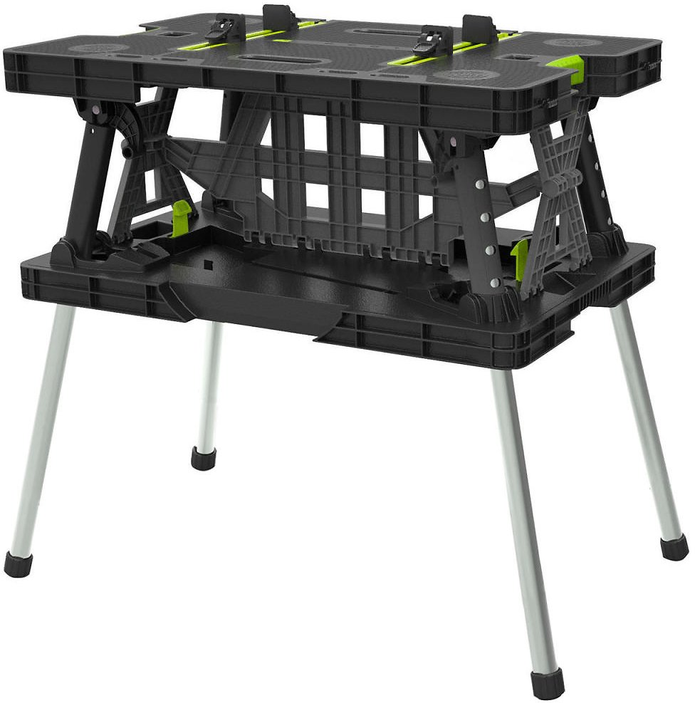 Keter Folding Work Table with Mini Clamps - Sam's Club