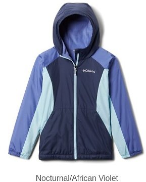 Columbia Ethan Pond Fleece-Lined Jacket - Girls' | REI Outlet