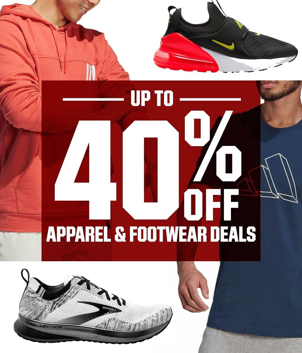 Up To 40% Off Apparel & Footwear Sale   DICK'S Sporting Goods