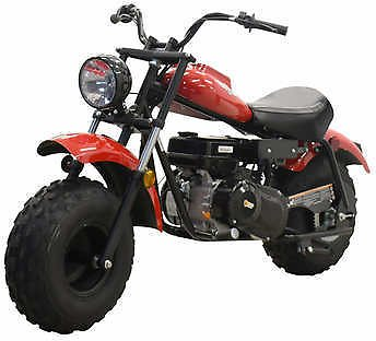 Massimo MB200 Red Mini Bike 196CC Engine