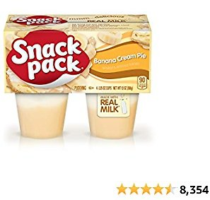 Snack Pack Vanilla Pie Pudding Cups 4-Count