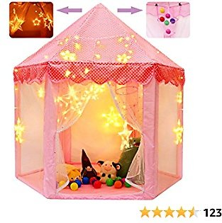 Princess Castle Playhouse Large Tent for Girls