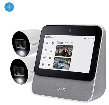 Lorex Home Center with Two 1080p Outdoor Wi-Fi Cameras - Sam's Club