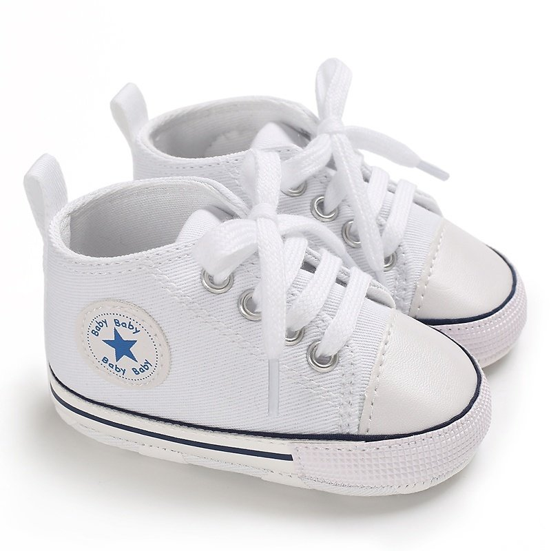 Baby or Toddler Canvas Shoes (Various Colors)