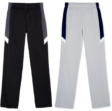 Athletic Works Boys Tricot Track Pants (5 Colors)