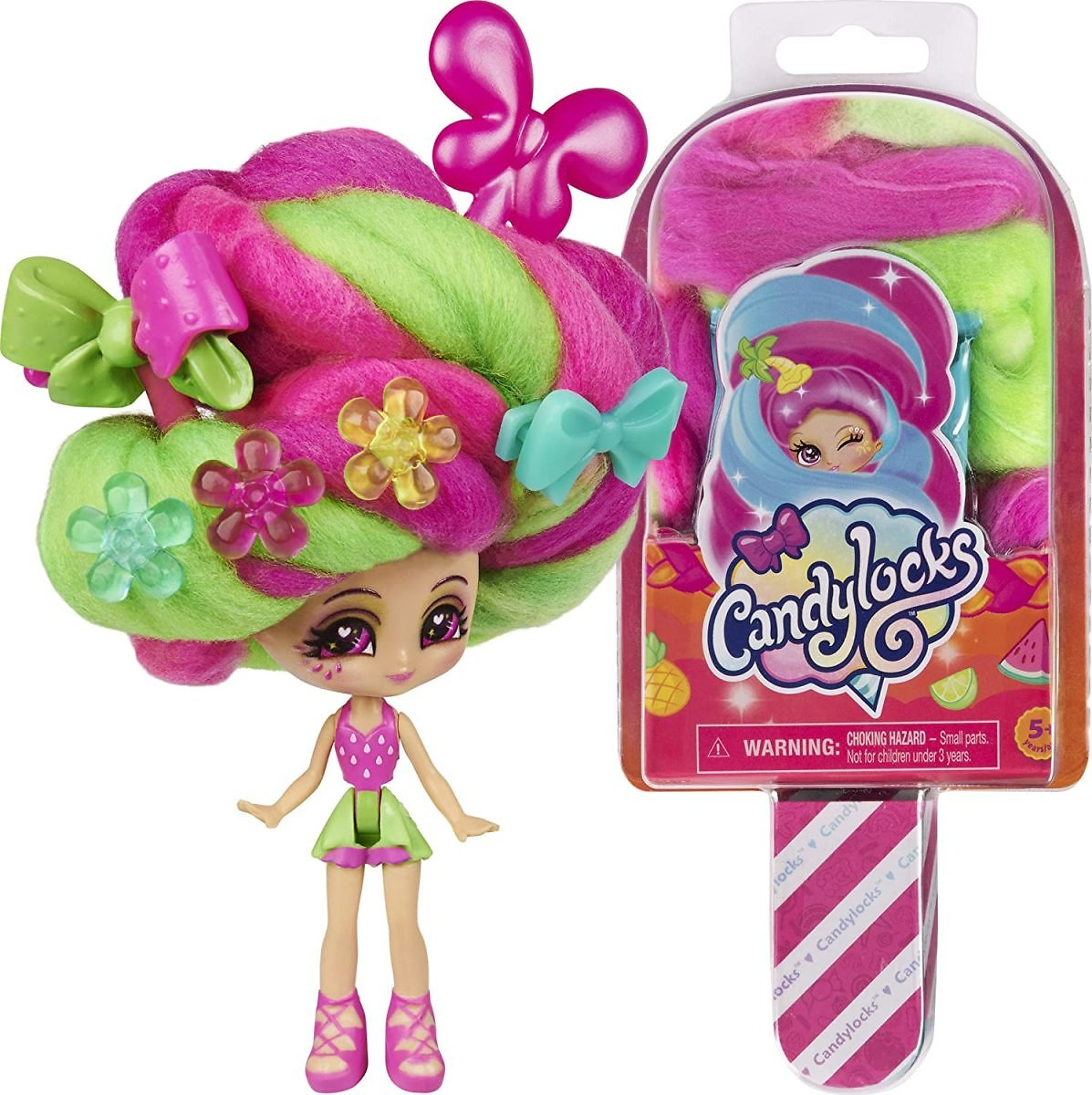 Candylocks 3-Inch Scented Collectible Surprise Doll with Accessories