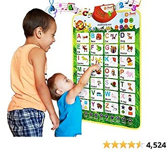 (51% OFF) Alphabet Learning Toy for Boys and Girls 3 Years Old