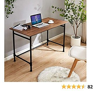 Computer Desk, Sturdy Office Desk, Modern Simple Study Desk, Writing Computer Desk, Home Office Desks, Rustic Computer Table, Home Office Industrial Style Laptop Table, Work Desk, Notebook Desk