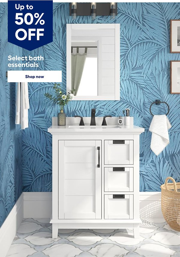 Up to 50% Off Select Bath Essentials - Lowes
