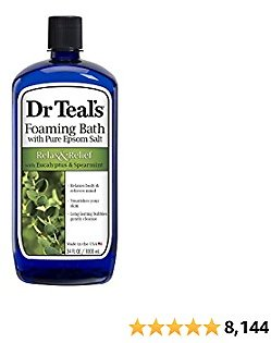 Dr Teal's Foaming Bath (Epsom Salt)