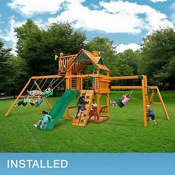 Gorilla Playsets Riverdale - Installation Included