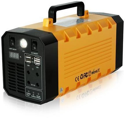 Abeden Portable Solar Generator 500W 288WH UPS Power Station Emergency Battery Backup Power Supply Charged By Solar/AC Outlet/Car for CPAP Laptop Home Camping - Newegg.com